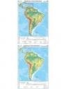 Mapa - Ameryka Płd Ogólnogeograficzna NE