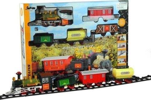 Kolejka elektryczna train set 4 wagony