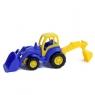Mistrz traktor z łopatą i łyżką