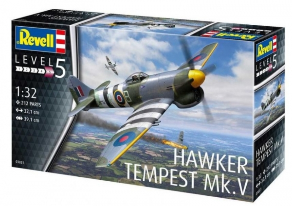 Model do sklejania Hawker Tempest Mk.V (03851)