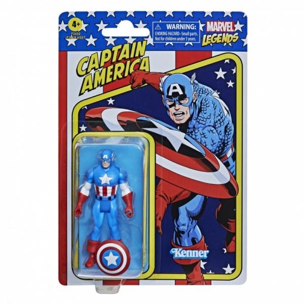 Marvel Legends Fan Legends Figurka Retro Kapitan Ameryka (F2648/F2652)
