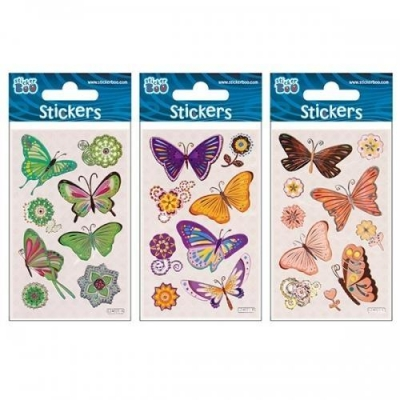 Naklejki Sticker BOO - Motyle #2 (382523)
