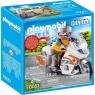 Playmobil City Life: Motocykl ratowniczy ze światłem (70051)Wiek: 4+
