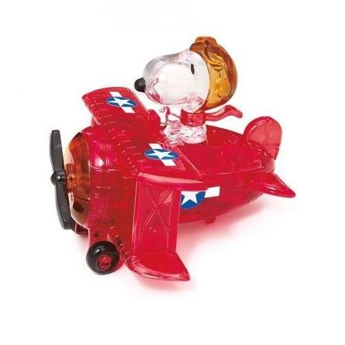 Snoopy w samolocie Crystal Puzzle  (1513)