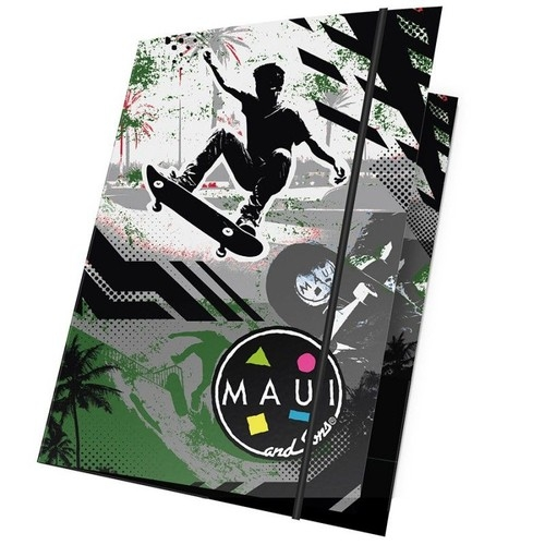 Teczka z gumką A4 Maui and Sons Skater 15 sztuk (MAUK-109)