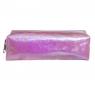 Piórnik saszetka różowy hologram (0033-0197)
