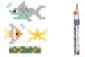 Klocki Micro Waffle: Zestaw morski - 230 elementów (903 513)Wiek: 5+