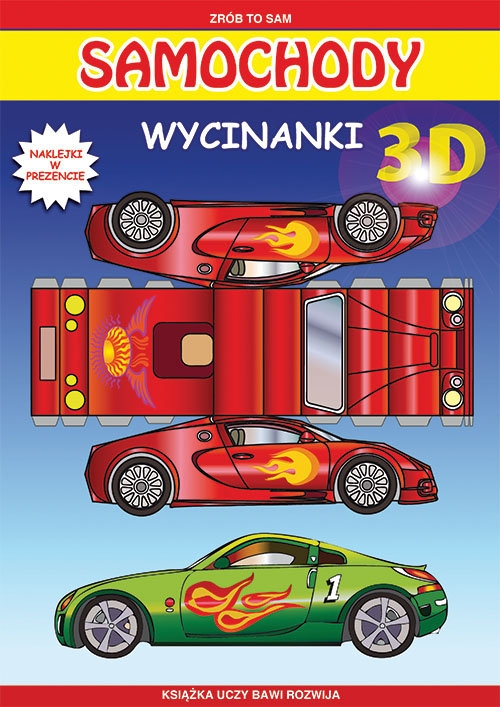 Samochody Wycinanki 3D Tonder Krzysztof