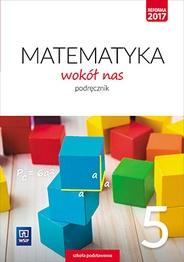 Matematyka wokół nas. Podręcznik, klasa 5 Helena Lewicka, Marianna Kowalczyk