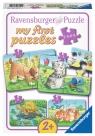 Puzzle 2/4/6/8 elementów - Słodkie zwierzęta (069514)