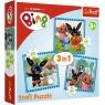 Puzzle 3w1 Zabawy z przyjaciółmi Bing (34851)