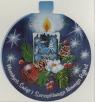 Karnet Świąteczny z futerkiem MIX