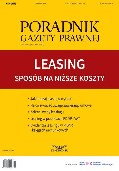 Leasing Sposób na niższe koszty