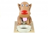 Skarbonka pies zjadający Monety Karmel