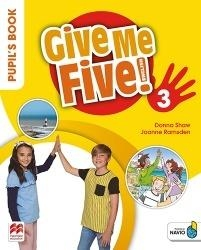 Give Me Five! 3 Pupil's Book Pack MACMILLAN Donna Shaw, Joanne Ramsden