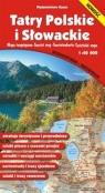 Mapa Tatry Polskie i Słowackie 1:40 000 Mapa turystyczna Wodoodporna