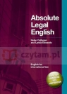 Absolute Legal English +CD Helen Callanan, Lynda Edwards