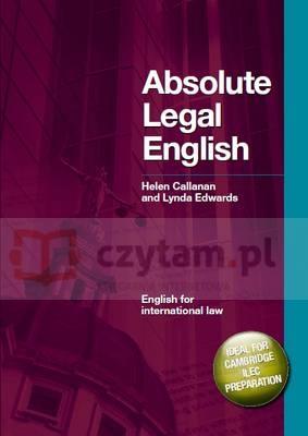 Absolute Legal English +CD Helen Callanan, Lynda Edwards