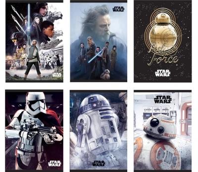 Zeszyt Star Wars A5 w kratkę 54 kartek 10 sztuk
