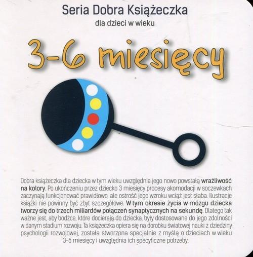 Seria Dobra Książeczka dla dzieci w wieku 3-6 miesięcy Starok Agnieszka