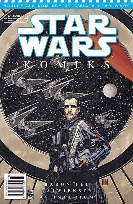 BARON FEL NAJWIĘKSZY AS IMPERIUM NR 3/2013 STAR WARS KOMIKS OPRACOWANIE  ZBIOROWE