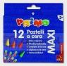 Kredki woskowe Primo Maxi 12 kolorów