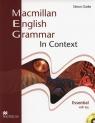 Macmillan English Grammar in Context Essential with key + CD Clarke Simon