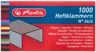 Zszywki Herlitz (8760514) 26/6 1000