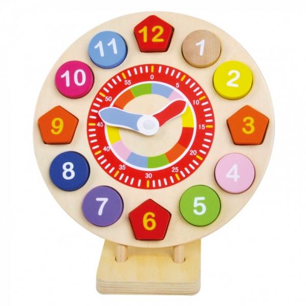 Drewniany zegar (84051)
