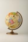 Globus z trasami odkrywców 220 mm