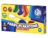 Farby plakatowe Astra, 6 kolorów - 10 ml (83111903)