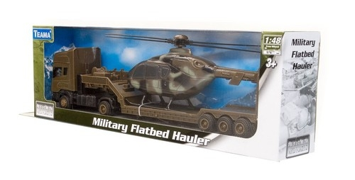 Teama Military Tir + Helikopter Scania 1:48 (33022)