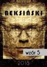Kalendarz 2018 z reprodukcjami prac Beksińskiego wzór5Wzór nr 5