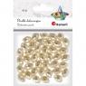 Perły Titanum Craft-fun podłużne fasetowane biały perłowy