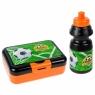 Bidon 350ml + pudelko śniadaniowe Football (447910)