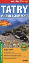 Tatry Polskie i Słowackie mapa turystyczna 1:55 000