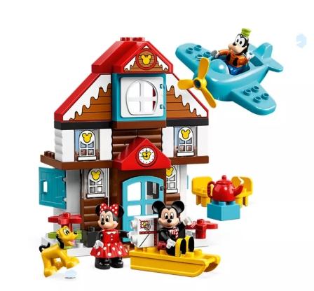 Lego Duplo: Disney Domek wakacyjny Mikiego (10889)