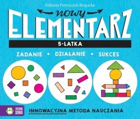 Nowy elementarz 5-latka Pietruczuk-Bogucka Elżbieta