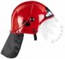 Hełm strażacki czerwony z szybką (8901) od 3 lat