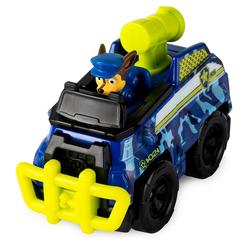Psi Patrol Jungle Rescue: pojazd metalowy - Chase (6053257/20121336)