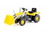 Traktor-koparka na pedałyWiek: 3+
