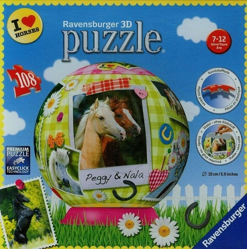 Puzzle 108 Wszystkie moje ulubione Konie
