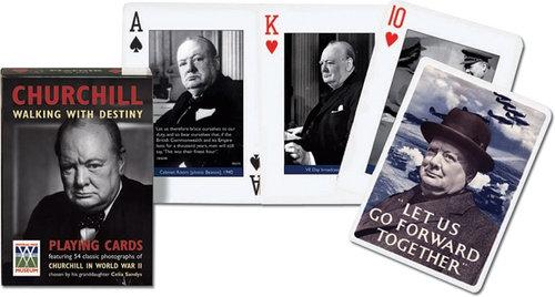 Karty do gry Piatnik 1 talia Churchill