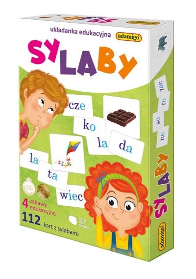 Układanka edukacyjna - Sylaby