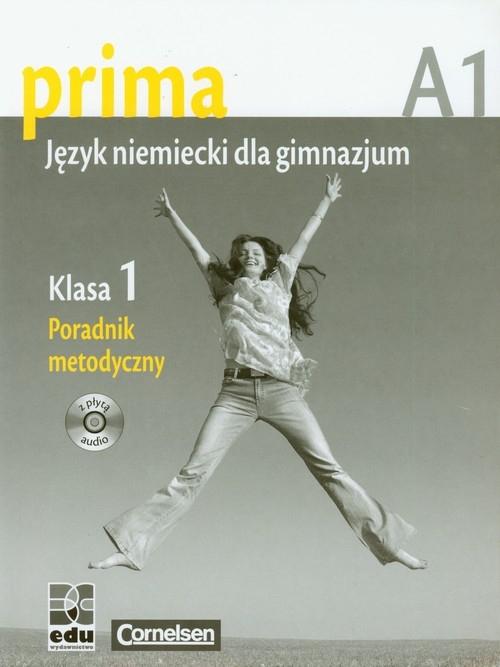 Prima 1 język niemiecki poradnik metodyczny z płytą CD Jin Friederike