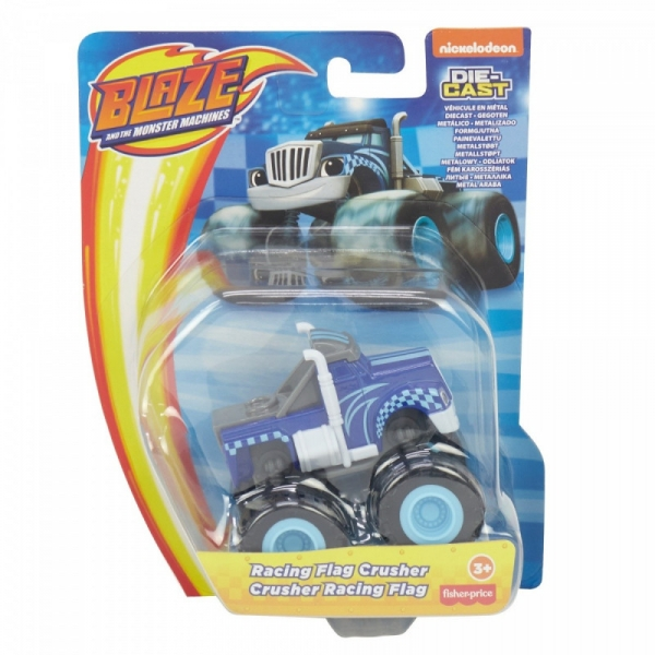 Pojazd metalowy Blaze Wyścigowa Flaga Crusher (CGF20/GVG63)