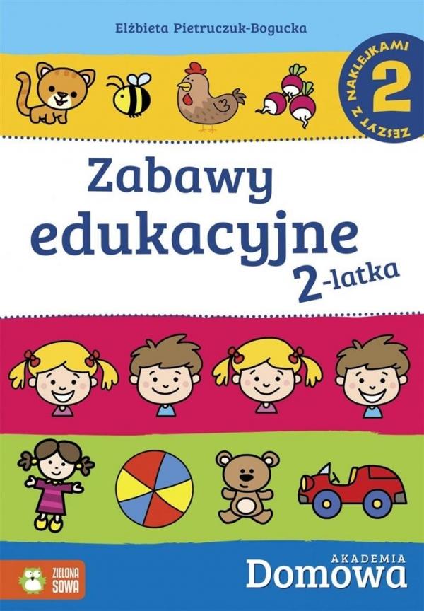 Zabawy edukacyjne 2-latka 2