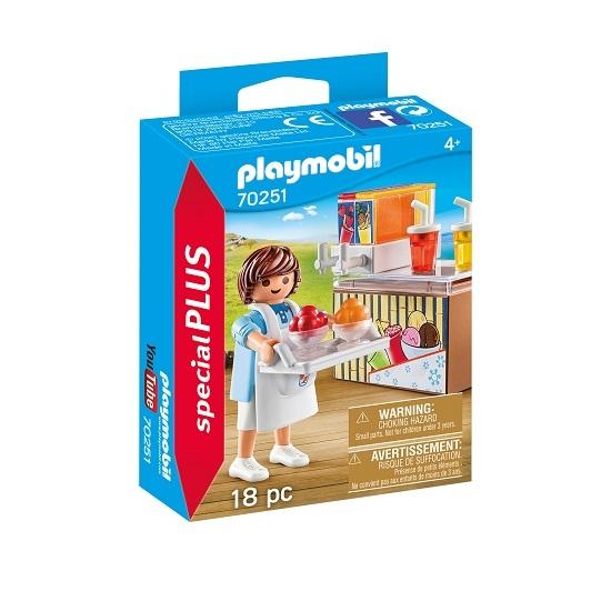 Playmobil Special Plus: Sprzedawca lodów (70251)