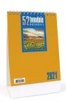 Kalendarz 2021 Biurkowy - 52T pomarańcz CRUX praca zbiorowa