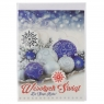 Kartka składana Agamis Boże Narodzenie B6 Plus